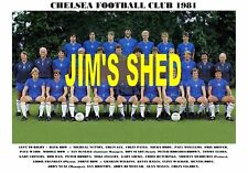 Chelsea Football Club. Team di stampa 1981 (DROY/WALKER)