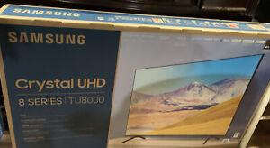 "NEW- Samsung TU8000 - 8 SERIES- 55"" Crystal 4K UHD Smart TV"