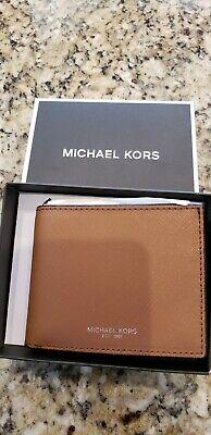 Michael Kors Tan Wallet Ebay Michael Kors Mens Slim Grainy