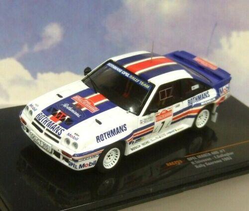 Ixo 1//43 Rothmans Opel Manta 400 #7 Rallye Sanremo Rally 1983 H.Toivonen RAC253