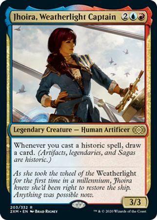 Jhoira Weatherlight Captain ~ Double Masters ~ M//NM ~ MTG ~ PACK FRESH ~ TCE