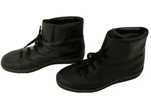 Windsor-Smith-black-LEATHER-lace-up-ankle-Boots-Size-40-5-Excellent-condition