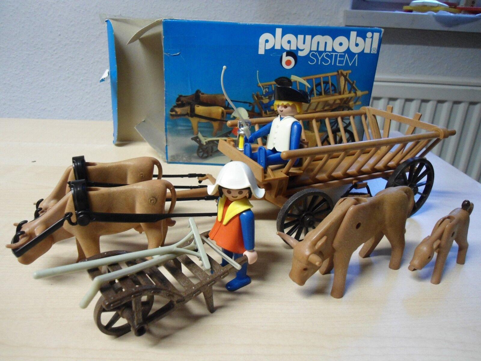 Playmobil  Klicky Set 3503  Ochsenkarre mit Zubehör   gebraucht