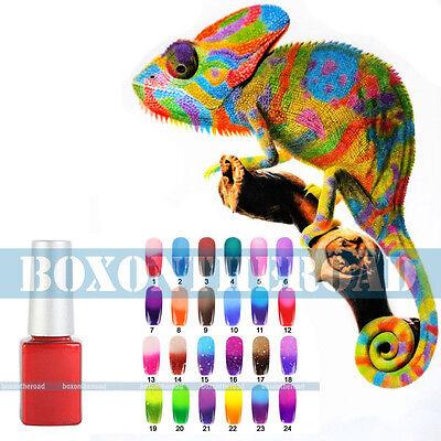 Temperature Change Color Soak Off Nail Art UV Gel Polish Gel Glitters Decoration