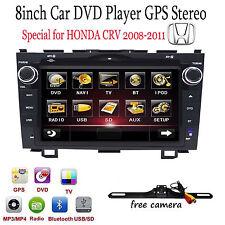 """8"""" Car GPS DVD Player BT Radio RDS for Honda CR-V CRV 2008 2009 2010 2011 Cam"""