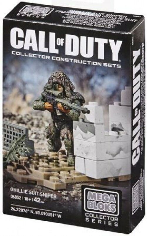 Mega Bloks Call of Duty Ghilly Suit Sniper Set