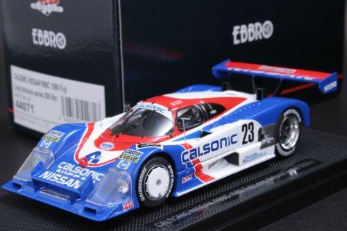 Ebbro 44071 1:43 Scale Calsonic Nissan Nismo R88C 1989 Fuji 500km #23 Die Cast