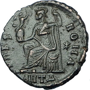 VALENTINIAN-II-378AD-Antioch-Authentic-Ancient-Roman-Coin-VRBS-ROMA-i65870