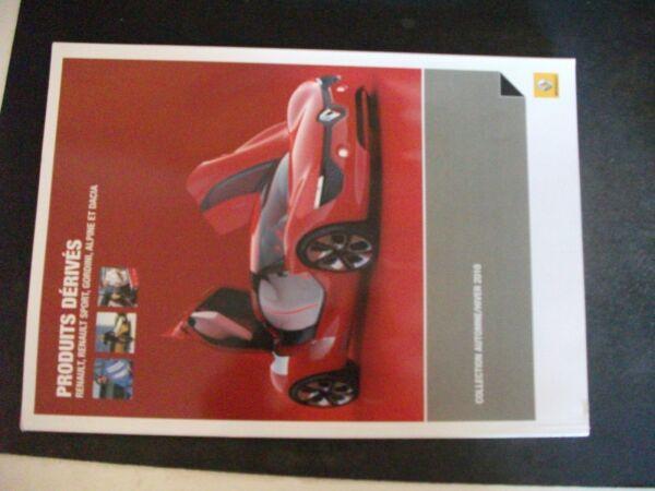 **a Catalogue Renault Produits Dérivés Collection Automne Hiver 2010 Per Vincere Una Grande Ammirazione