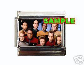 Star Trek Voyager Cast #1 Custom Italian Charm