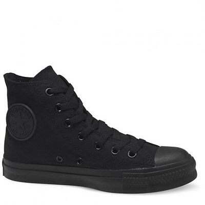 CONVERSE ALL STAR CHUCK TAYLOR Original  Canvas Black MONO Hi M3310 Men