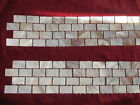 Mother of Pearl Wall Tiles Strip Border 30 X 6 Cm Natural Coloured 15x25 Chips