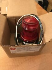 Federal Signal Corporation Lp3sl 120r Red Led Light Nema 4x