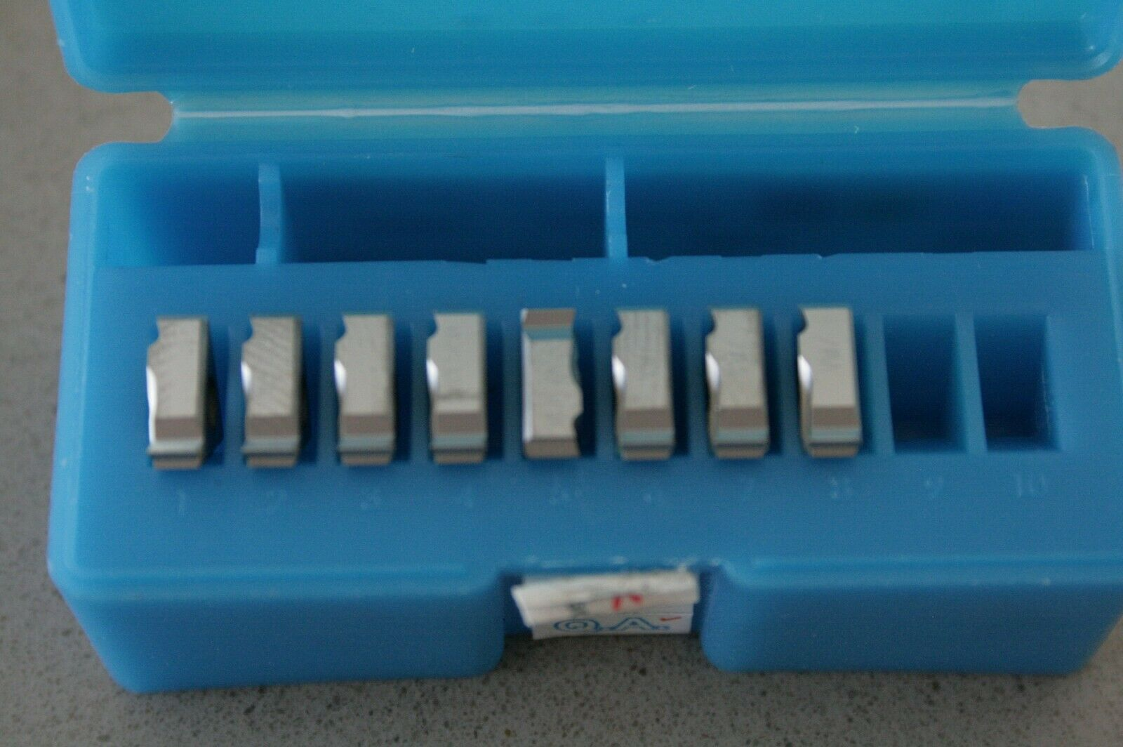 5 Vardex threading inserts 2IR A60 VTX 11IRA60 11NRA60 11NR 11IR  A 60 Deg