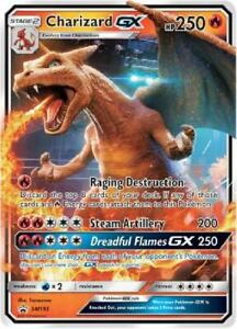 Charizard GX - SM195 - Oversize Promo NM Pokemon Oversized Cards GFB