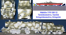 Märklin 3793 BR 52 Dampflok 39 Bilder Kriegslokomotive Tarnlok Wintertarnung NEU
