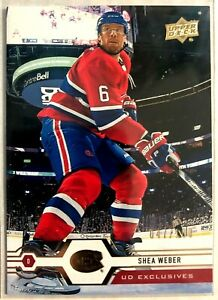 2019-20-Shea-Weber-Upper-Deck-UD-Exclusives-51-Montreal-Canadiens-100