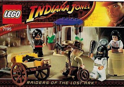 LEGO INDIANA JONES INSTRUCTION MANUAL 7195 AMBUSH IN CAIRO