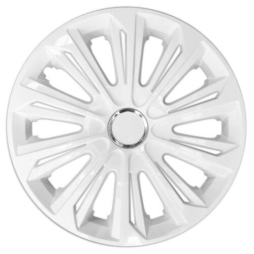 "4 copricerchi diametro 15/""  bianco STRONG"