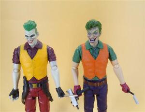 LOT-OF-2-DC-Direct-Batman-Series-the-joker-Action-Figure-6-034-loose