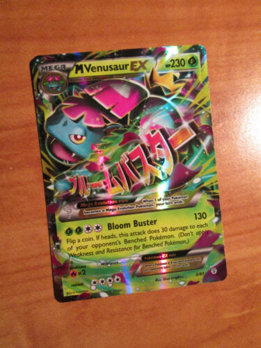 NM MEGA Pokemon M VENUSAUR EX Card GENERATIONS Set 2//83 XY 20th Anniversary TCG