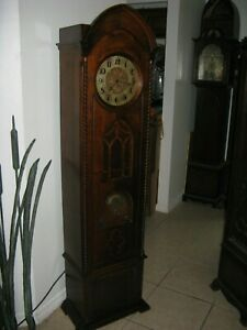 Atwater-Kent-Grandfather-Clock-Radio-for-Restoration-Parts-Not-Cathedral