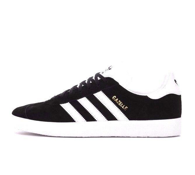 Adidas Originals Gazelle BB5476 Black Black Black Suede Leather Men Shoes 338d71