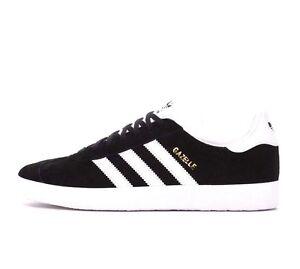 Adidas Originals Gazelle bb5476 negro Suede Leather hombre zapatos eBay