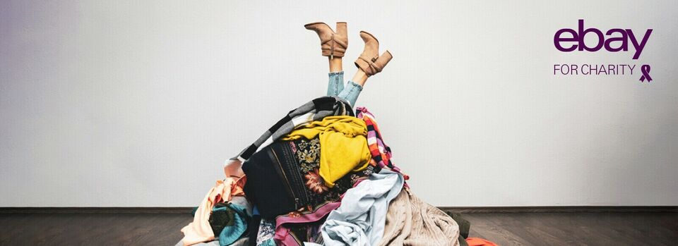 Find out more - Decluttering? Sell it for charity.