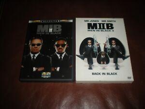 LOT-2-DVD-COLLECTORS-MEN-IN-BLACK-I-ET-II