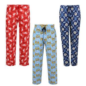 Boys Football Lounge Pants Man City Manchester City Pyjamas Trousers Bottoms