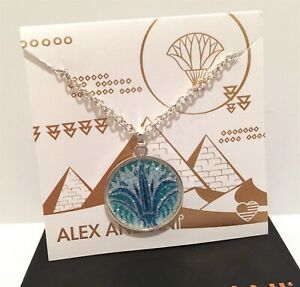 Nwt New Alex And Ani Sterling Silver Shiny Blue Lotus Flower