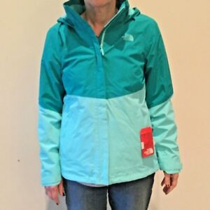 99b40ebb0923 2018 North Face Women s Morialta Rain Jacket Medium Kokomo Green ...