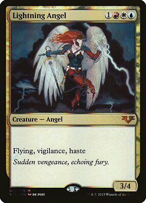 Angel of Fury FOIL From the Vault Akroma Angels NM-M Mythic Rare CARD ABUGames
