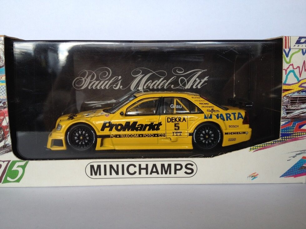 MINISTAMPS 1 43 Mercedes C -klass DTM 1995 Zakspeed 430963505