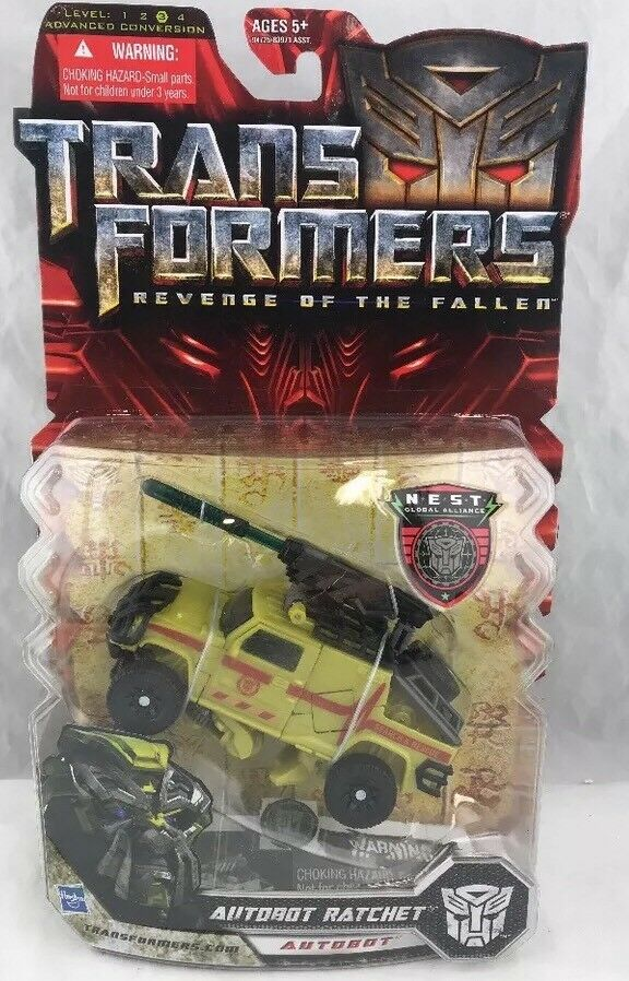 Transformers Movie ROTF Revenge Of The Fallen Deluxe Class Ratchet MOSC