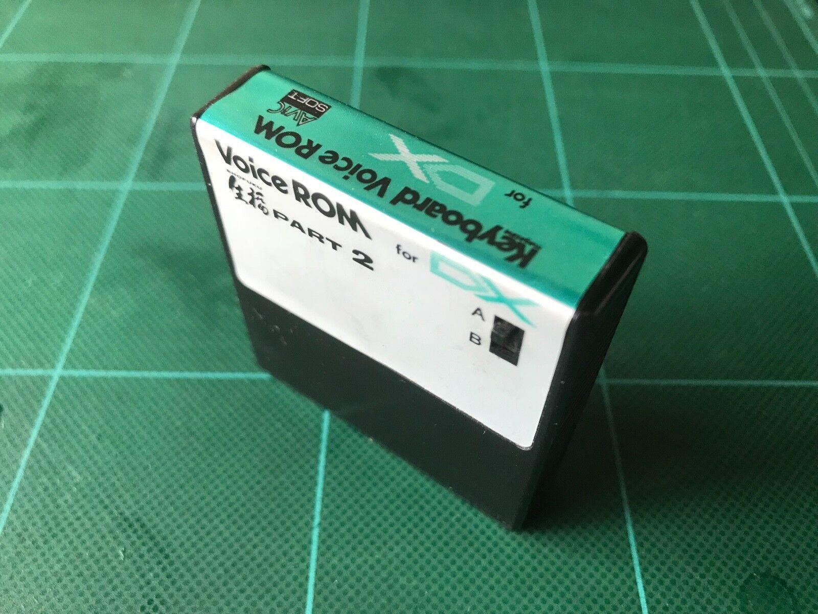 YAMAHA DX7 VOICE ROM SHOFUKU PART2 KV-02 free shipping
