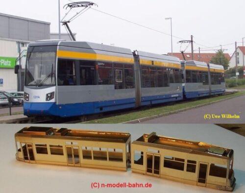 Straßenbahn LeoLiner Tram Messing-Bausatz Zubehör basteln Konvolut Spur N M