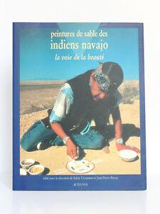 Peintures-de-sable-des-indiens-navajo-GROSSMAN-BAROU-Actes-Sud-1994-CATALOGUE