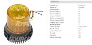 Jungheinrich 51123871 Lights A Shatter Beacon A LED 12-80 Volt Top 125
