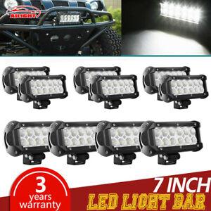 10-PCS-10-PACK-36w-7-Inch-Light-Bar-Led-Spot-Work-Off-Road-Fog-Driving-4x4