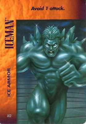 Iceman Ice Armor CCG Marvel DC Image Ungraded OverPower