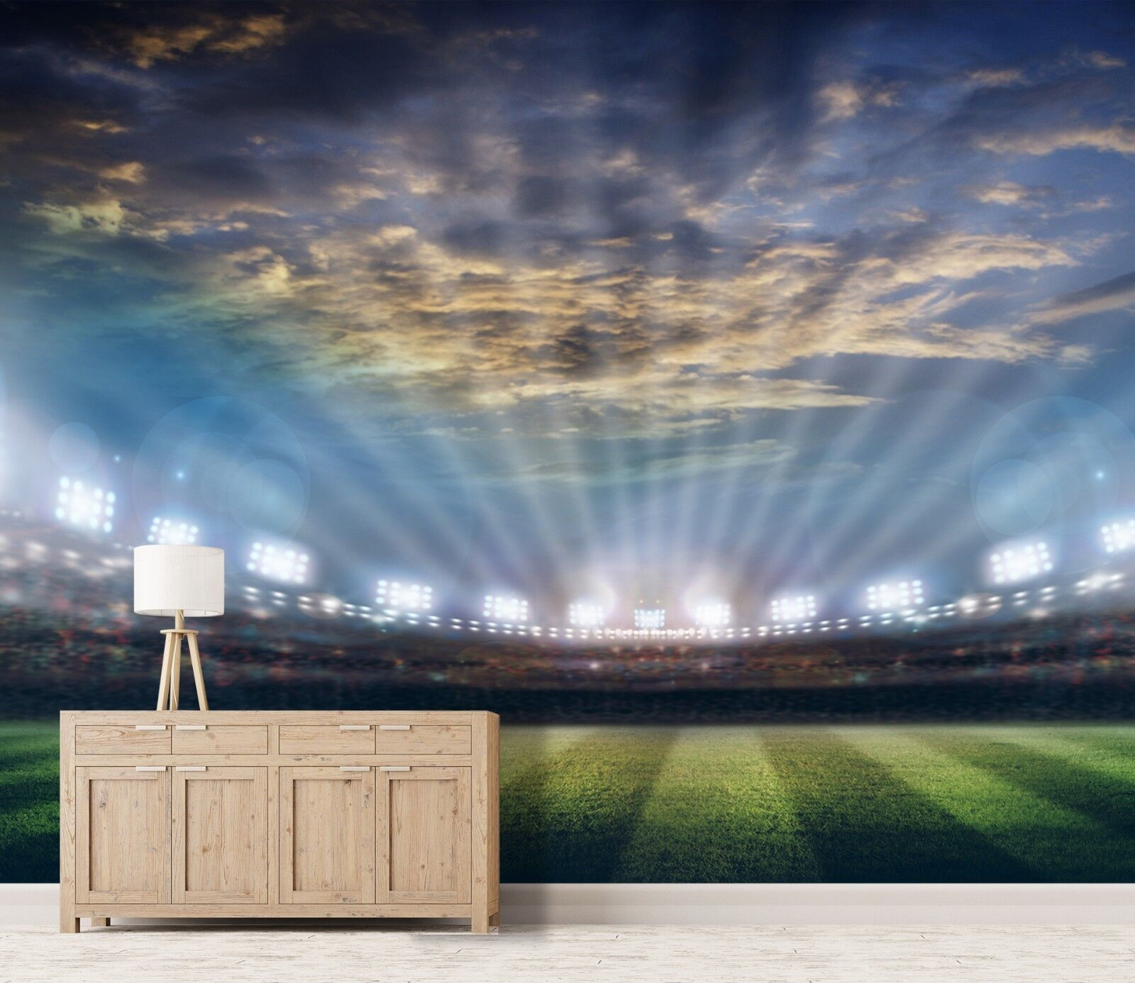 3D Skylight Stadium 452 Wall Paper Wall Print Decal Deco Indoor Wall Mural CA
