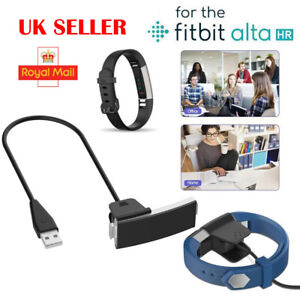 Details about USB Charging Cable Charger Lead for FitBit Alta HR Tracker  With Reset Button UK