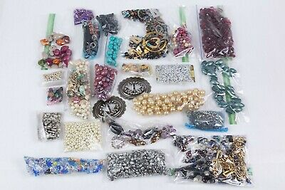 costume jewelry-making supplies,2 lb packs of mixed items No Junk.