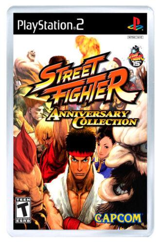 Street Fighter Anniversaire Collection PS2 Fridge Magnet Aimant Frigo