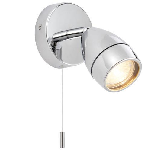 IP44 Bathroom Ceiling Spotlight –Chrome Plate–Single Round Modern Downlight Lamp