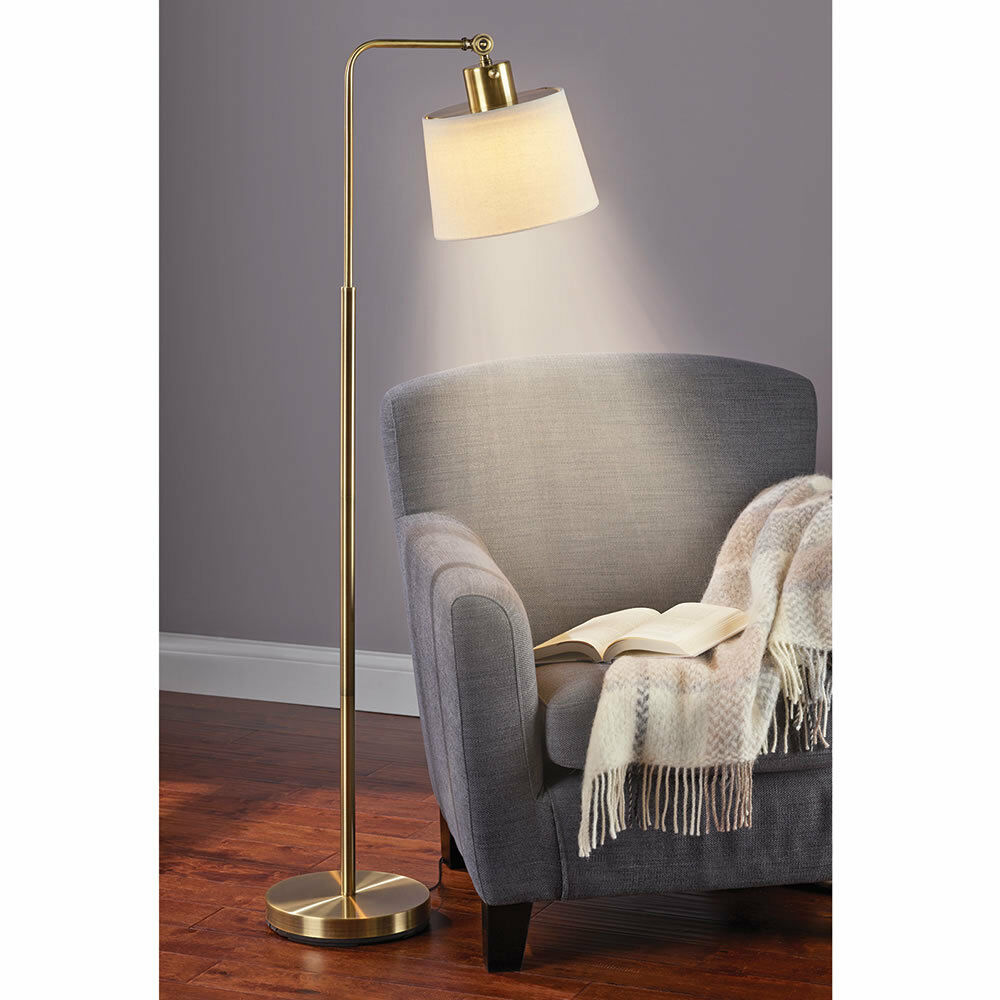 Super Bright Cool Weiß LED Floor Lamp, Adjustable Lighting, Sewing, Reading