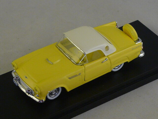 RIO 4328 - Ford Thunderbird Hard top giallo - 1956   1 43