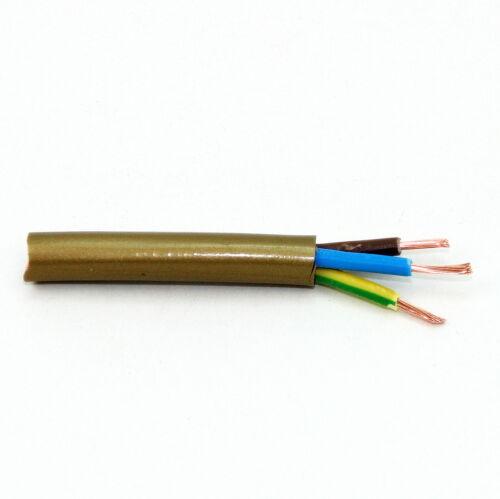 Pvc lampes-câble câbles électriques 3 conducteurs 3x0,75 Câble D/'alimentation Câbles électriques environ